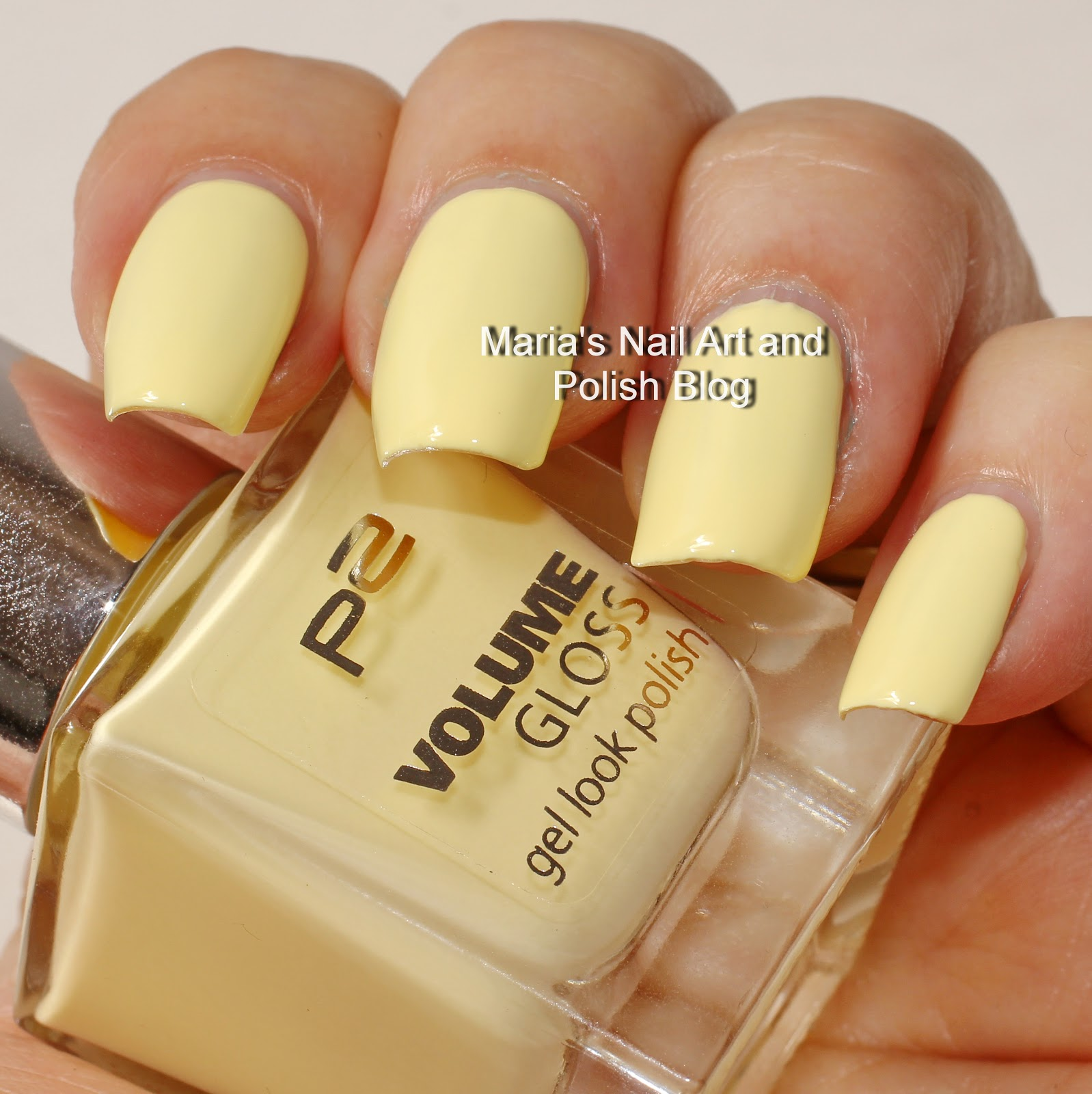 Yellow Cream With A Truly Wonderful Formula 2 Coats Are Enough On Nails Without My Severe Ridges But I Chose To Show It In 3 Top Coat