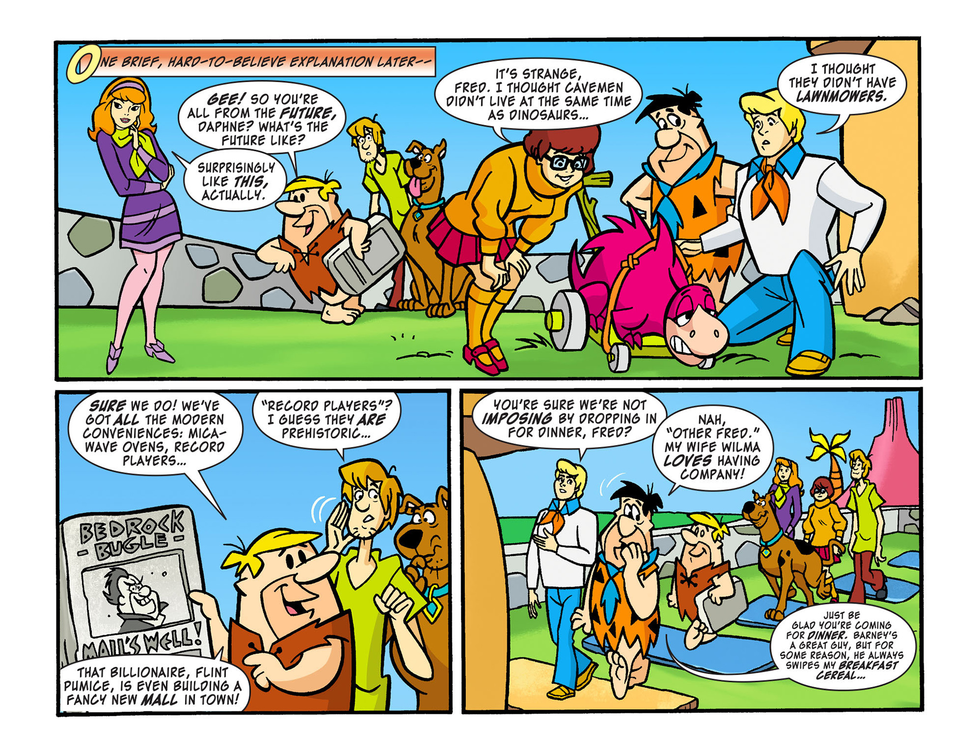 Read online Scooby-Doo! Team-Up comic -  Issue #13 - 8