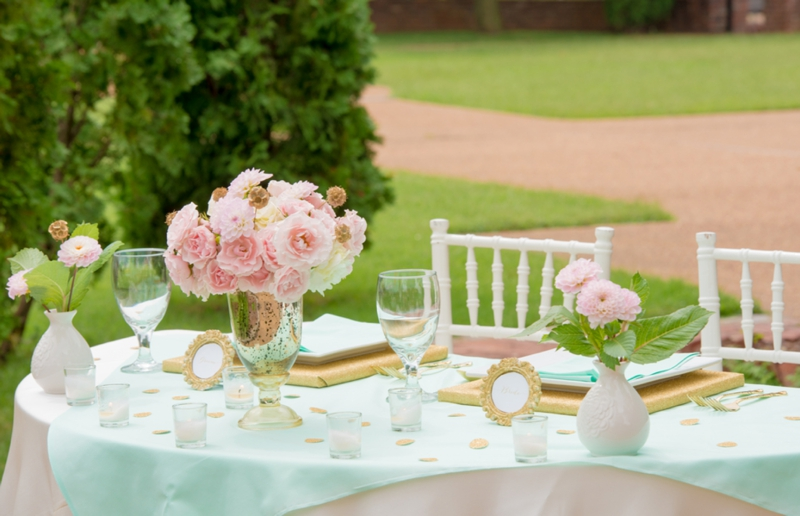 Juneberry Lane Palette Of A Party Color Inspiration In Mint Blush