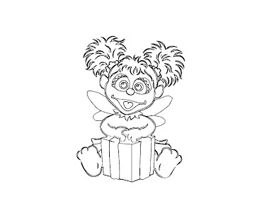 #6 Abby Cadabby Coloring Page