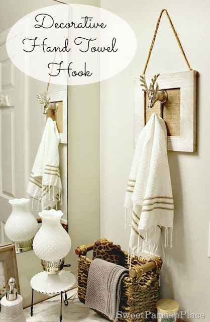 Decorative Hand Towel Hook - Dwellings-TheHeartofYourHome.com