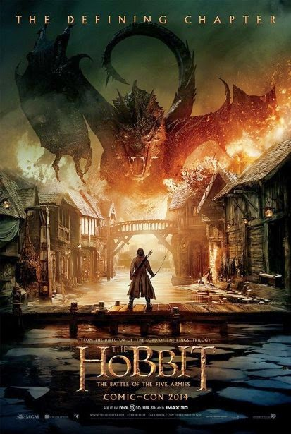 The Hobbit: The Battle of the Five Armies Filminden Poster