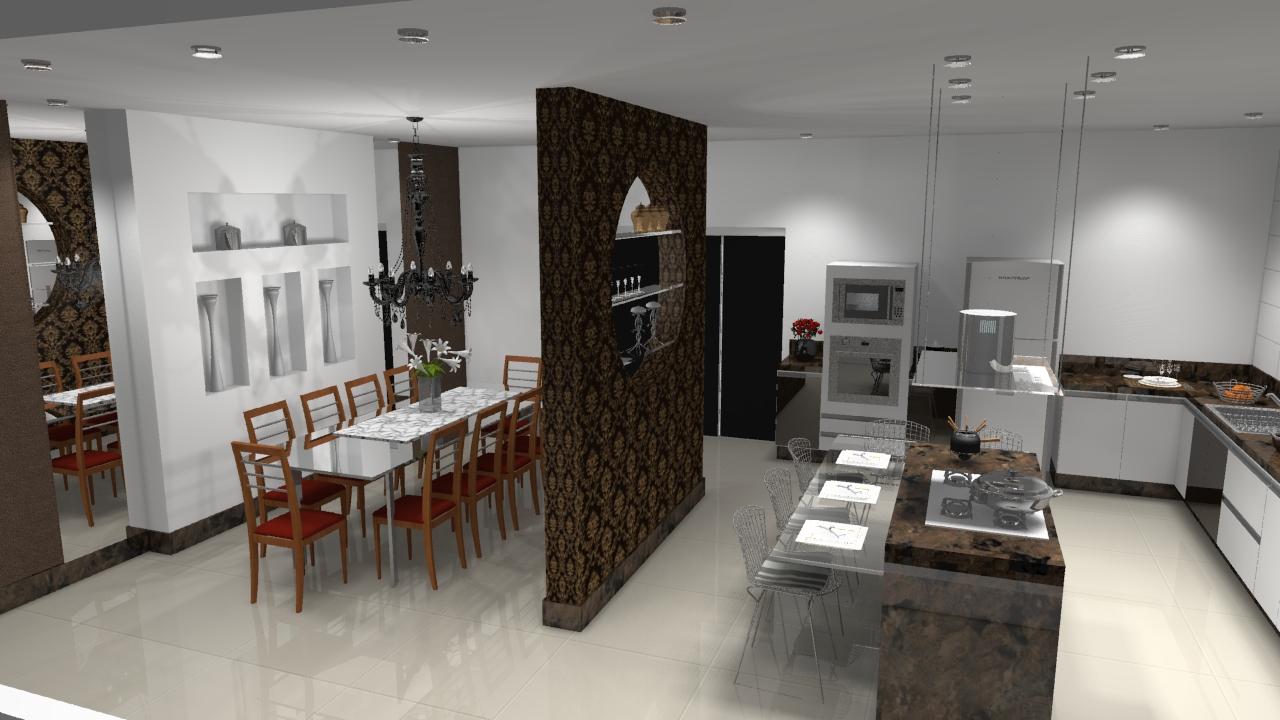 Sala Cozinha Divisoria Dahdit Com Cole O De Fotos Melhor  ~ Divisoria Para Cozinha E Sala