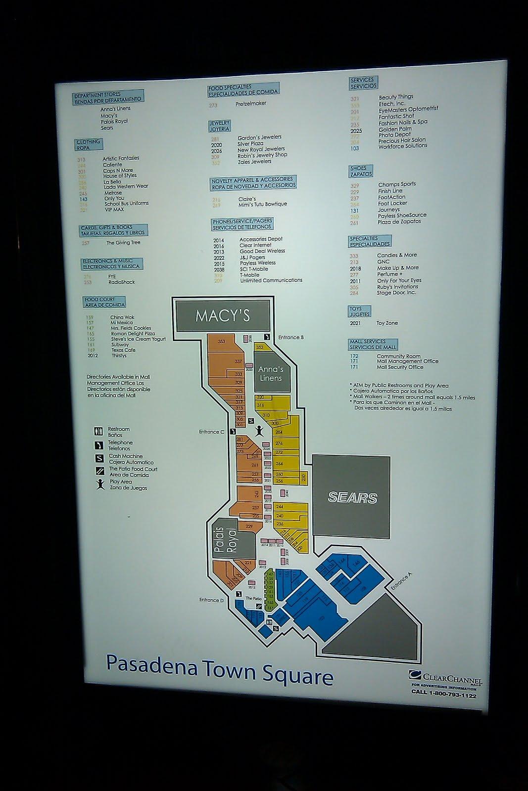 Louisiana and Texas Southern Malls and Retail: Pasadena Town Square ...
