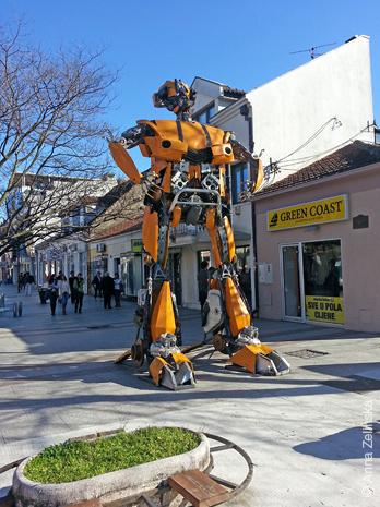 Робот «Bobo»