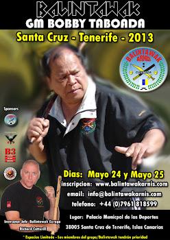 GM. Bobby Taboada en Tenerife
