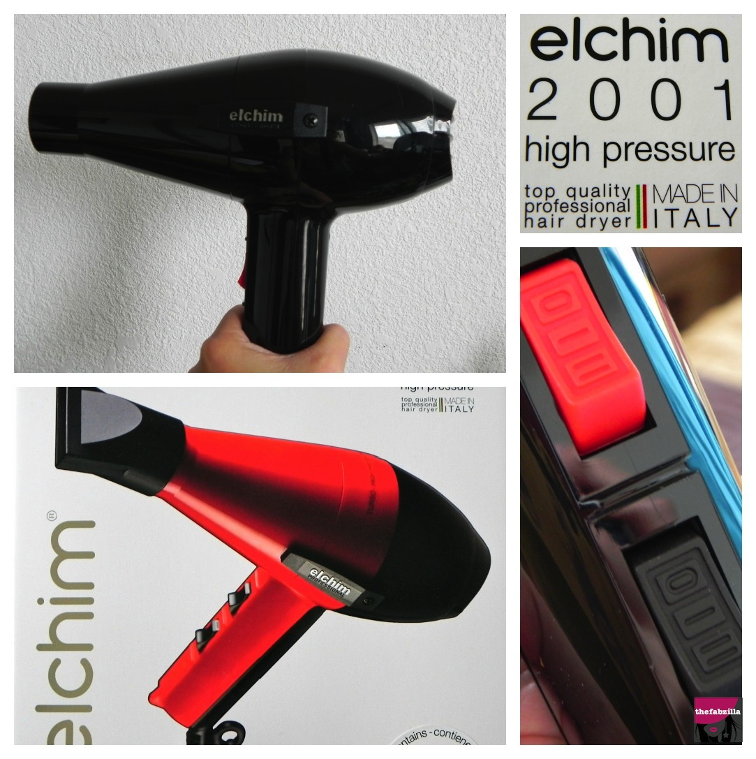 A Blow Drying Experience Elchim 2001 Professional Hair