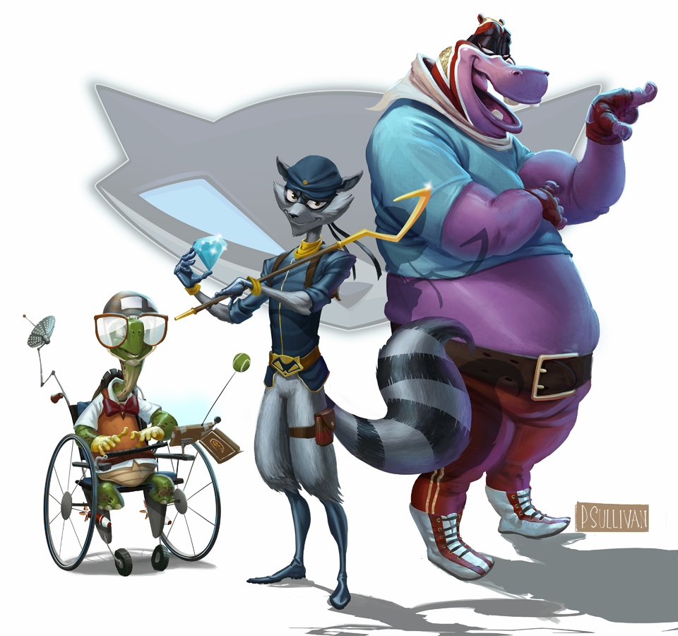 Pauls Concepts Sly Cooper Thieves In Time