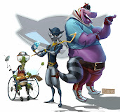 #29 Sly Cooper Wallpaper