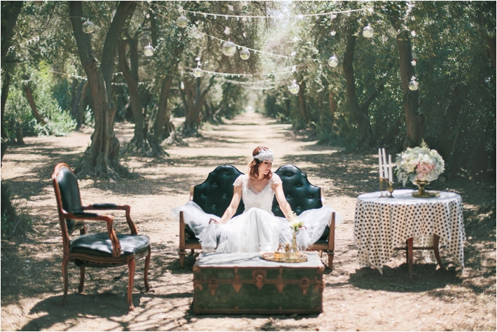Whimsical Olive Grove Wedding Inspirational Shoot at Highland Springs Resort