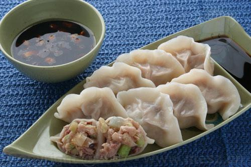 Chinese food Dumplings Image