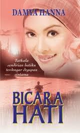 1st book : Bicara Hati by Damya Hanna