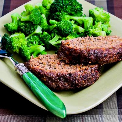 Grain-Free Meatloaf with Tomatoes, Fennel, and Flax Seed