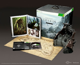 the Elder Scrolls V: Skyrim Collector's Edition Xbox 360 retail box