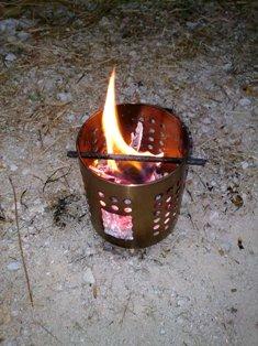 ikea camping hobo stove