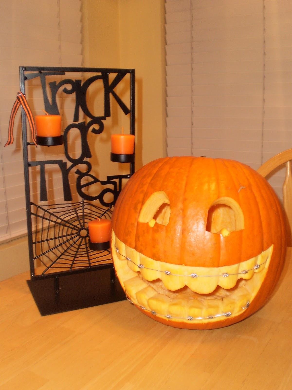 Baker 39 S Bright Ideas Dental Pumpkin