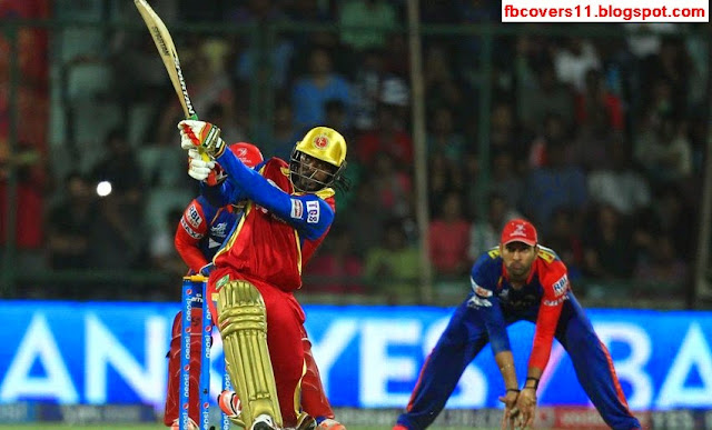 Chris Gayle RCB Facebook Timeline Covers