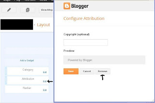 Remove Attribution Powered Blogger 2