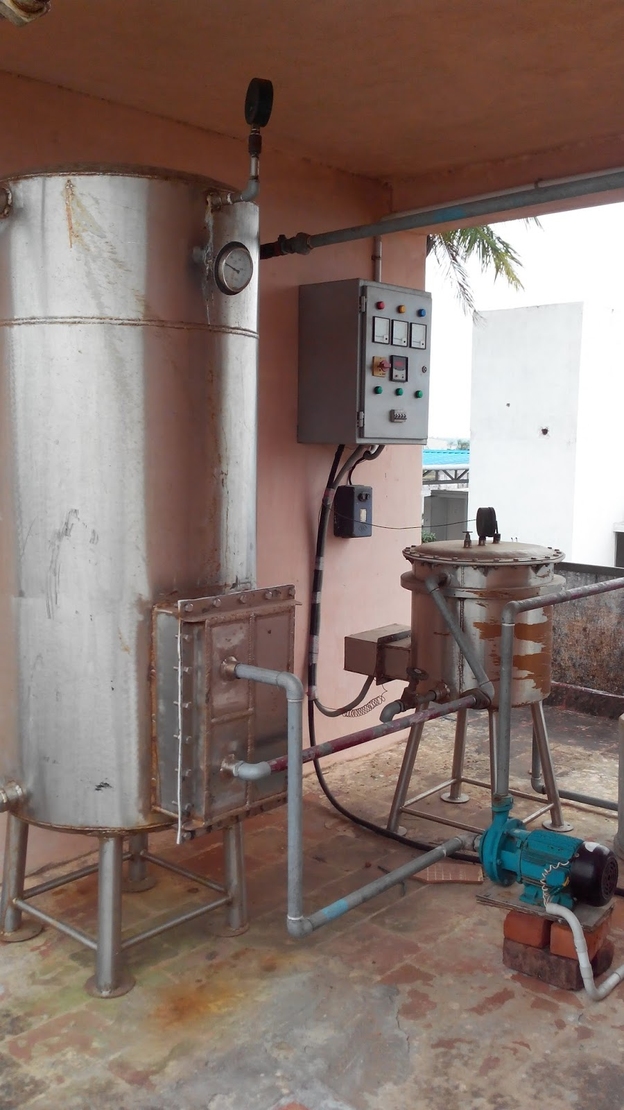 Hot Water Plant
