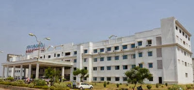Santhiram Medical College Nandyal Building