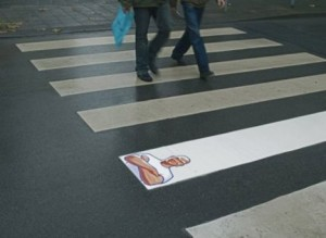 Guerilla marketing M. Propre