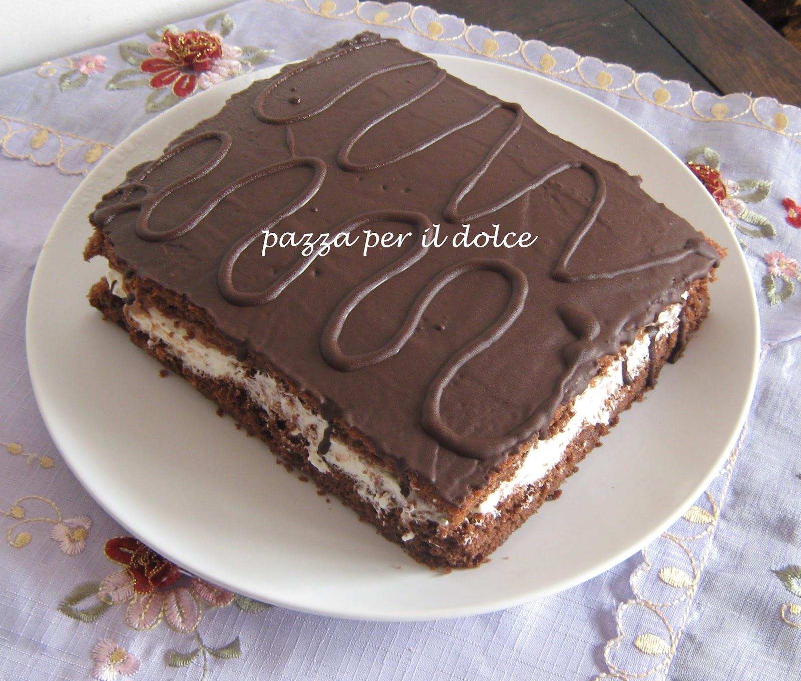 Top pazza per il dolce: MAXI TORTA KINDER (DELICE ?) YD08