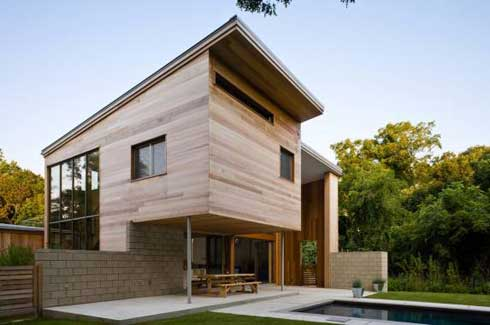 appearance wood house design