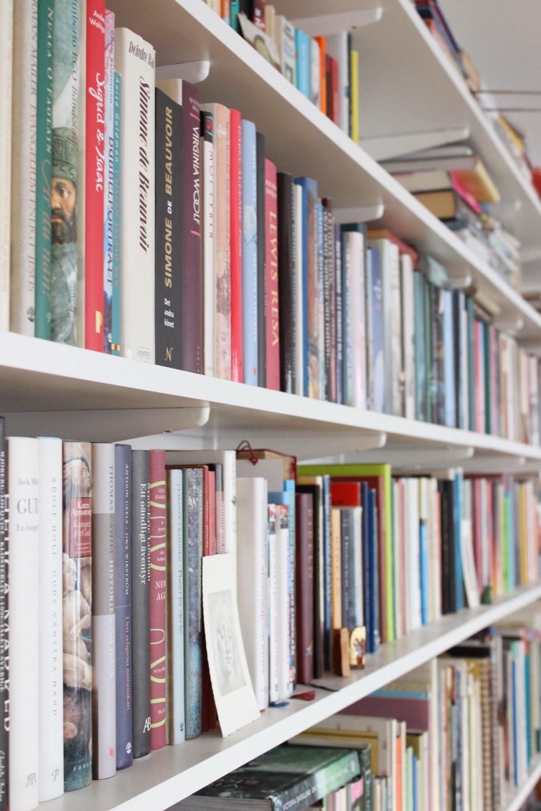 Mitt 60-talshus: Böcker, böcker, böcker...