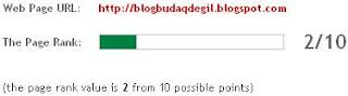 blogbudaqdegil.blogspot Update Google Pegerank Bulan Februari 2012