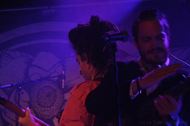 King Charles en concert à la Maroquinerie