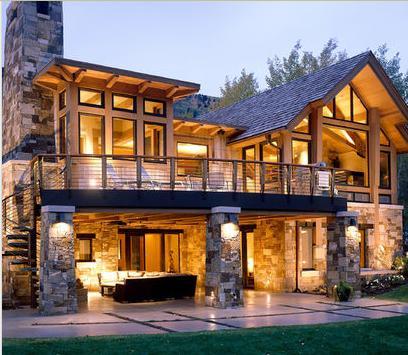 Fachadas de casas fachadas de casas con balcones for Fotos de casas modernas con balcon