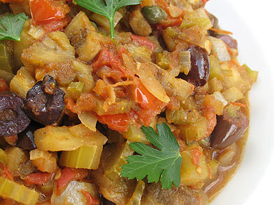 Tomato and Eggplant Caponata