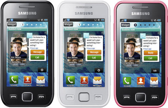 3 Samsung Wave Phones: Samsung Wave 525, Samsung 533 and Samsung 575 with Bada OS