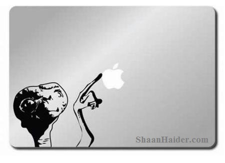 ET MacBook Stickers for Apple Lovers