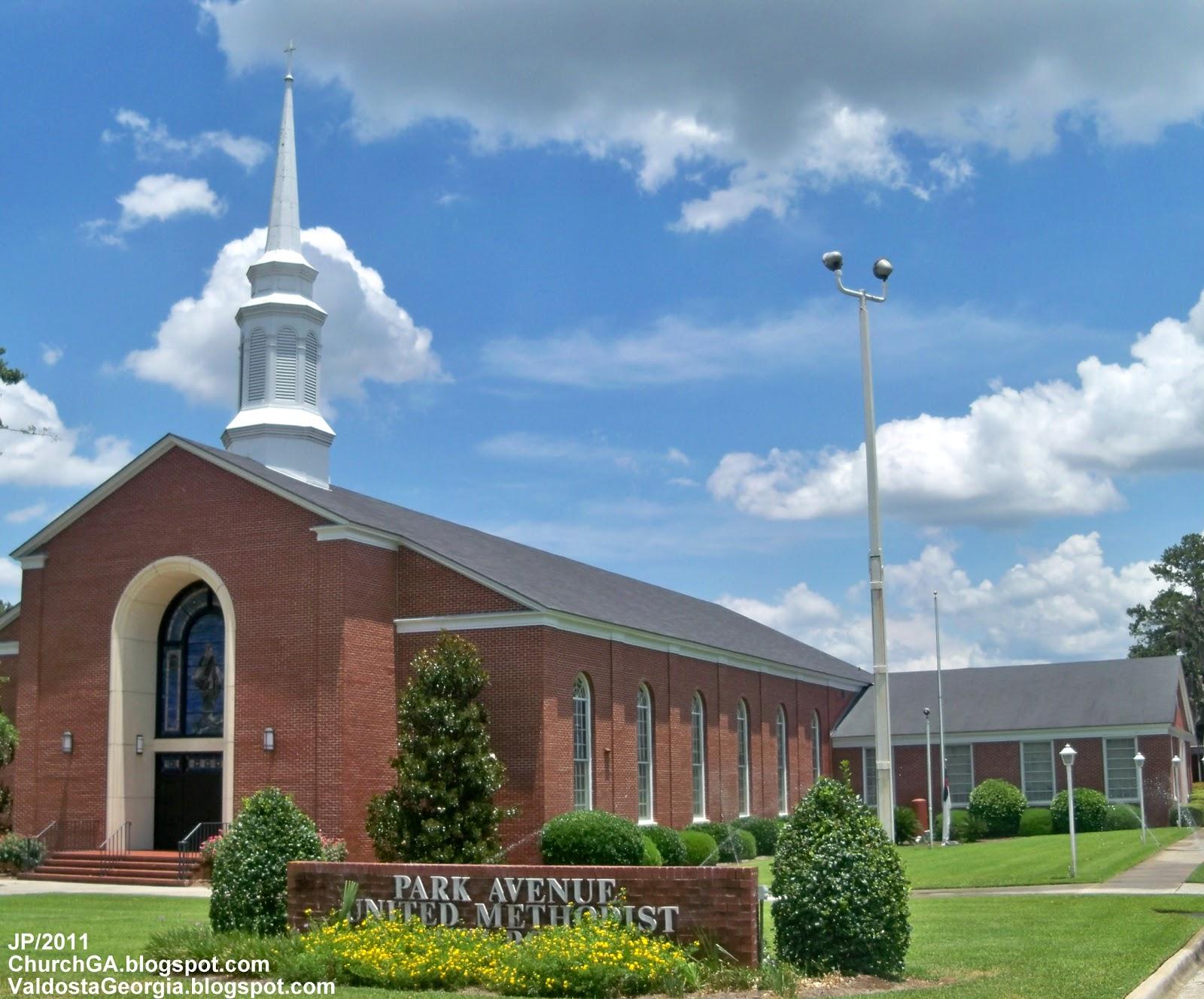 Methodist churches park avenue united methodist church valdosta