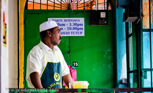 Tempat makan menarik Pulau Pinang - Nasi Kandar Tajuddin Hussain