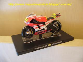 coleccionable Altaya de Valentino Rossi