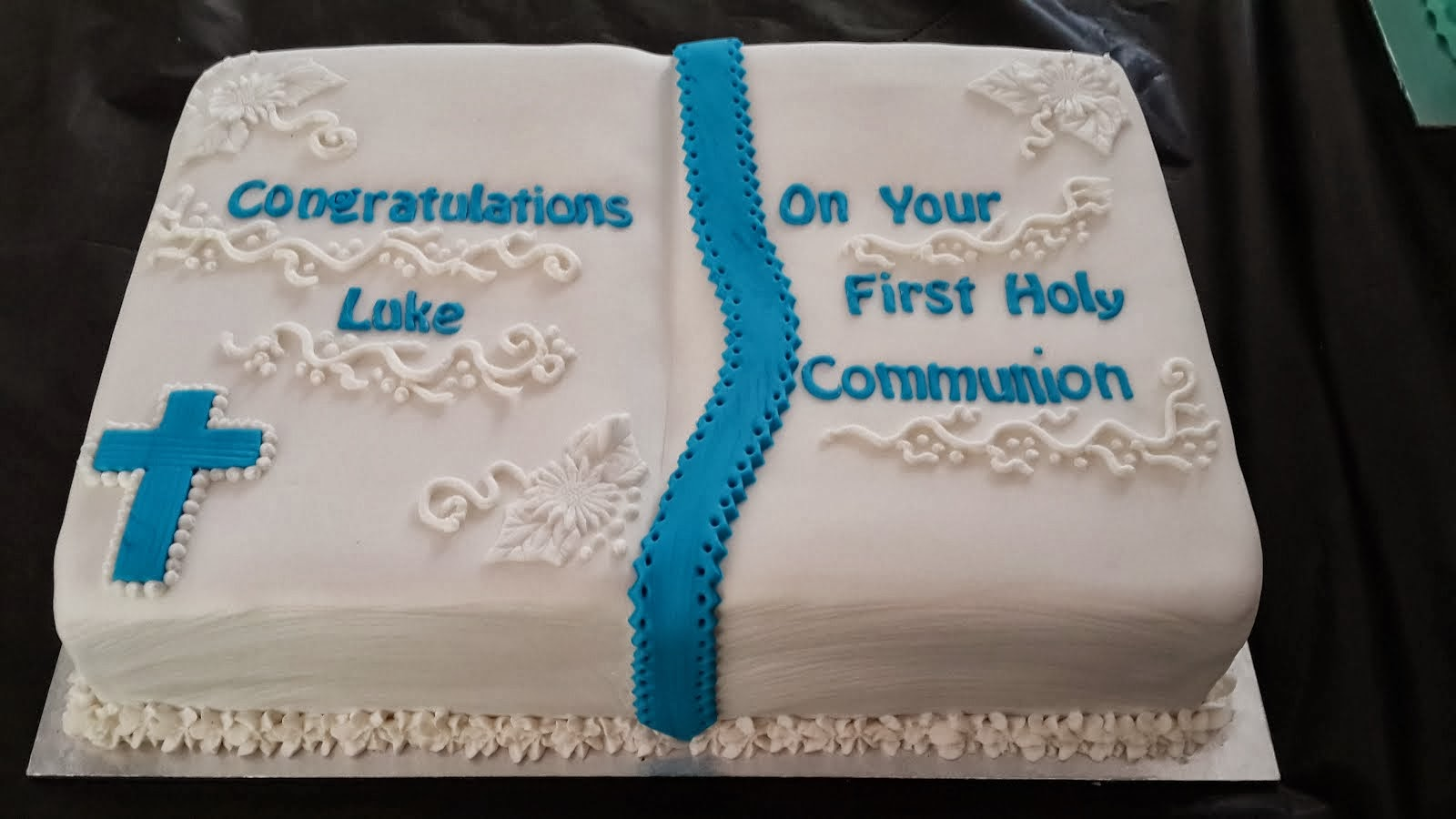 Confirmation Cake - Luke