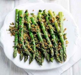 Griddled British Asparagus with Gremalata