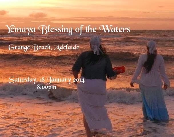 Yemaya Blessing of the Waters (January 2014)