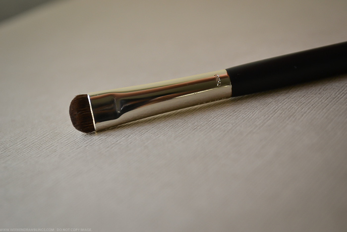 NARS 15 Smudge Eye Makeup Brush - Pony Hair - Review - How to Use