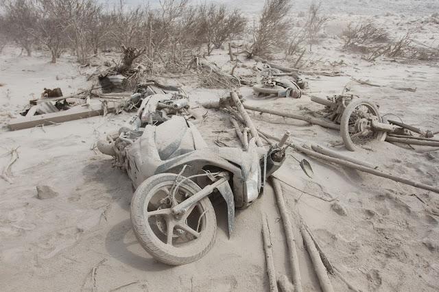 Akibat Letusan Sinabung Desa Sukameriah Dipastikan Hilang