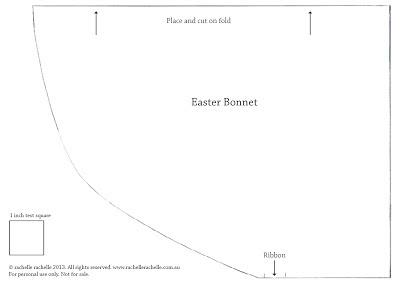 Shop contemporary handmade diy easter bonnet for Easter bonnet printable templates