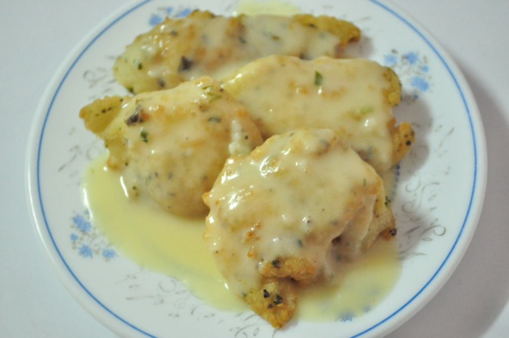 Lemon cream sauce fish for Lemon fish sauce recipe