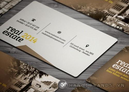 Thiết kế mẫu card visit ấn tượng 1