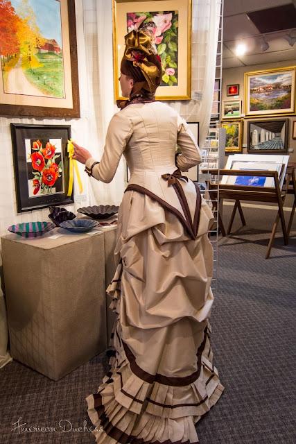 Bustle Dress Natural Form 1879 1880