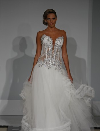 Pnina Tornai Wedding Dress Fashion Club