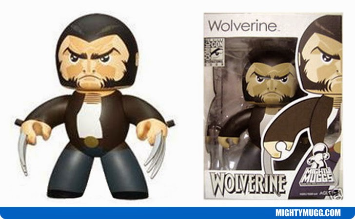 Wolverine Retractable Claws Marvel Mighty Muggs Exclusives