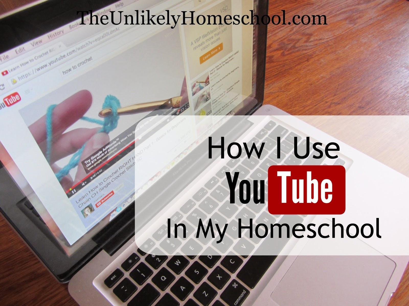 How I Use YouTube in My Homeschool {The Unlikely Homeschool}