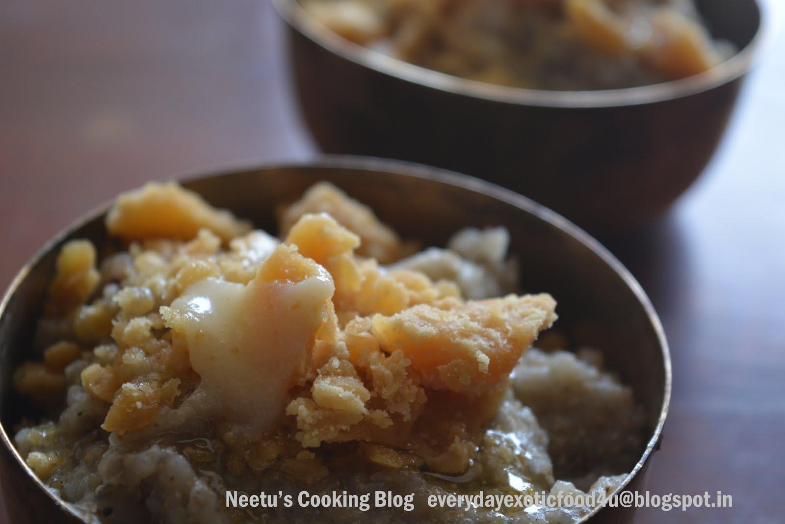 Rajasthani Kheechada/ Pearl Millet Porridge